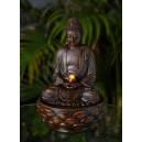 grande fontaine bouddha méditation