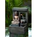 fontaine bouddha méditation ruisseau
