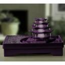 Fontaine lotus violet